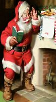 JOLLY SANTA CLAUS FATHER CHRISTMAS LIFE SIZE CUSTOM FILL IN YOUR XMAS WISH LIST