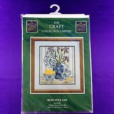 "The Craft Collection Cross Stitch Kit ""Blue Still Life"""