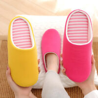 Women Indoor House Winter Home Slippers Soft Guest Bedroom Warm Non-slip Shoes