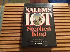 SALEM'S LOT, Stephen King (1975), Hardcover, *True 1st Edition*