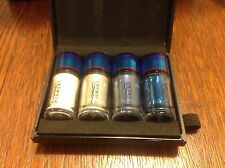 Authentic Mac Irresistibly Charming Blue Mini Pigments + Glitter 4pc Gift Set