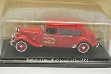 Universal Hobbies Presse 1/43 - Citroen Traction 11 Pompiers Azé 1955