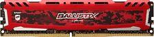 Ballistix Sport LT 8GB Single DDR4 2666 MT/s PC4-21300 SR x8 DIMM 288-Pin Memo