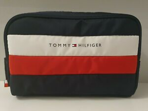 Tommy Hilfiger Men's Zip-up Travel Wash Bag or Toiletries Bag *Brand New*