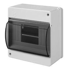 Aufputz Kleinverteiler IP30 Sicherungskasten Aufputzverteiler 1-reihig 6 Module
