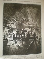 Rolling Mill making shell casings by Joseph Pennell 1916 print ref AN