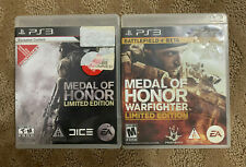 Medal of Honor (2010) + Warfighter (2012) (Playstation 3, PS3) Limited Edition