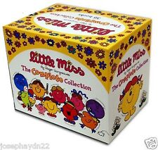 NEW SET of LITTLE MISS LIBRARY 36 book BOX SET Bossy to Christmas MR MEN