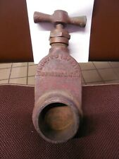 Vintage Finerty's Improved coupling hydrant gate