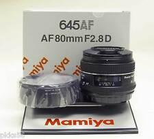 Mamiya 645 AF / AFD / AFD II / AFD III/ DF / DF+ / Phase One 80mm/2.8 D lens