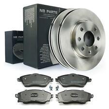 Bremsscheiben 240mm belüftet + Bremsbeläge vorne Opel Corsa C 1.0 1.2 1.7