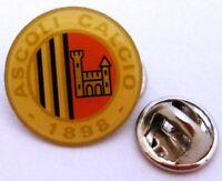 Pin / Anstecker + Ascoli Calcio 1898 FC SpA + Crest Badge + Italien #184