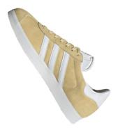 New & Genuine Adidas Originals GAZELLE ® Easy Yellow Gold UK Size 9.5 EU 44