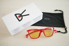 District Vision Red Keiichi Small Sunglasses Titanium Core Running Made in Japan