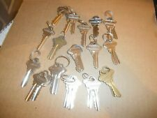 16 Sets of Matched Pairs of Schlage Entry Door Lock Keys Commerical Rentals