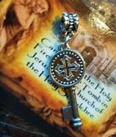 Cross Key Pendant Reliquary Holy Fire relic Tomb of Jesus