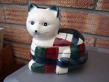 Oriental Chinese Cat Trinket Box