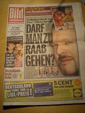 BamS Stefan Raab Toni Garrn Selena Gomez Justin Bieber Mesut Özil Halle Berry