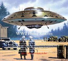 CD - UFO - WW2 Flying Saucers + 11 UFO Books