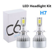 2*H7 110W/Kit 32000LM LED Headlight Conversion COB Bulbs Cool High/Low Beam IP68