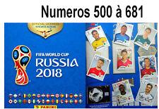 Sticker PANINI FIFA 2018 World Cup Russia  .  500  à  681 (Album 682 stickers )