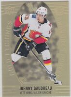 19/20 TIM HORTONS...JOHNNY GAUDREAU...GOLD ETCHINGS...CARD # GE-5...FLAMES