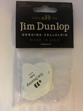 Dunlop Genuine Celluloid Thin Guitar Picks For Acoustic & Electric Guitar