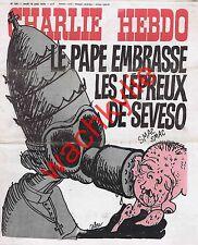 Charlie Hebdo 300 du 12/08/1976 Séveso Pape Cabu Manif antimilitariste Douaumont