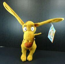 "Rugrats Spike Dog Plush 8"" Nanco NWT 2001 Posable"