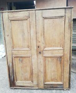 Antique Pine Cupboard Cabinet