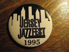 New Jersey Usa JazzFest Jazz Music Festival Concert Vintage 1995 Lapel Hat Pin