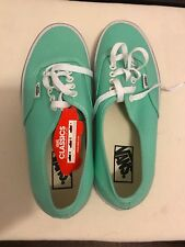 Classic Vans Canvas Sneaker Teal Womens 10