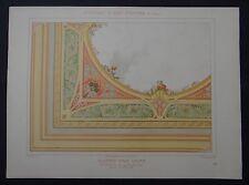 MULIER / Planche 24 / PLAFOND POUR SALON Scabieuse/ Art Nouveau Jugendstil