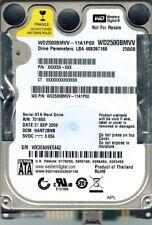 Western Digital WD2500BMVV-11A1PS0 250GB DCM: HANT2BNB