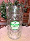 Holsten Export Lager Beer Handled 2 Pint Glass DIMPLED Stein  Pub Home Bar VGUC