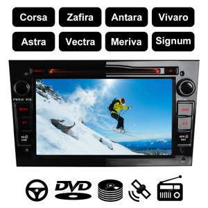 16GB DVD GPS Navi Autoradio für Opel Corsa C D Zafira B Astra H Vivaro Vectra C