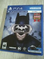 BATMAN ARKHAM VR PS4 PLAYSTATION 4