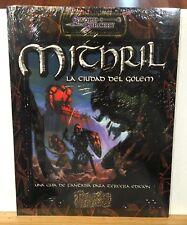 Mithril: La ciudad del golem Sword & sorcery LFDD031
