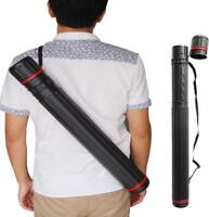 IRQ Archery Back Arrow Quiver Shoulder Bag Holder Case Tube Compound Recurve Bow