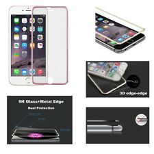 Genuine Glass Screen Protector 3D Edge to Edge for iPhone 8 7 6s 6 Rose Gold