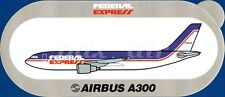 ULTRA RARE ORIGINAL FEDERAL EXPRESS DELIVERY SERVICES AIRBUS A300 STICKER
