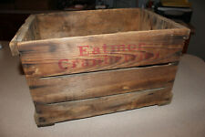 "Vintage Eatmor Cranberries Wooden Crate 17"" X 11 1/2"" X 11 1/2"""