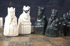 Isle of Lewis Chess Set: Walking Dead Governor Version (Pieces Only/No Board)