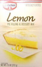 Dr. Oetker Lemon Pie Filling & Dessert Mix (Pack of 2) 7.5 oz Boxes