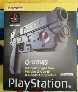 G-CON 45 LIGHT GUN PS1 USATA IN OTTIME CONDIZIONI