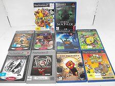 Mortal Kombat-Red Faction-Soulcalibur 2 Bulk Lot x 10 Great Pre Loved PS2 Games