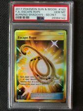 PSA 10 Gem Mint - ESCAPE ROPE HOLO - Pokemon TCG: Burning Shadows #163
