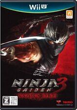 Used Wii U Ninja gaiden 3 Razor's Edge  JAPANESE VERSION IMPORT NINTENDO