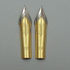 Set of 2 Kanwrite No.6 (35 mm) EF Ultra Flex Fountain Pen Nibs TTF