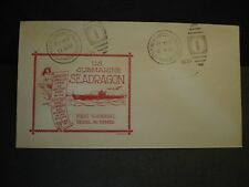 Submarine USS SEADRAGON SS-194 Naval Cover 1939 DEWOLFE LAUNCH Cachet Groton, CT